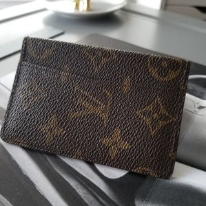 Louis Vuitton Classic Mono mini Bifold wallet